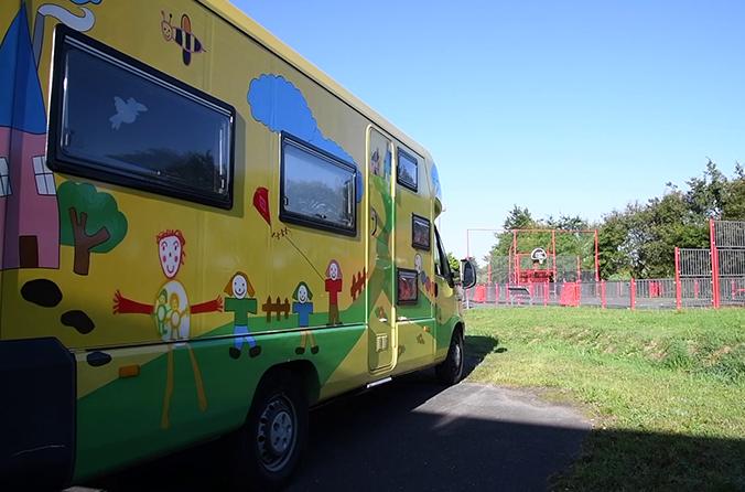 La halte-garderie itinérante 1000 pâtes pour la petite enfance