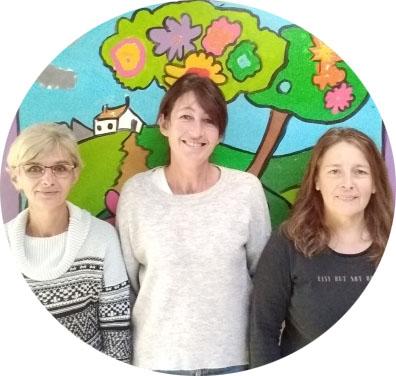 Les agents des écoles à la mairie de Saint-Vougay