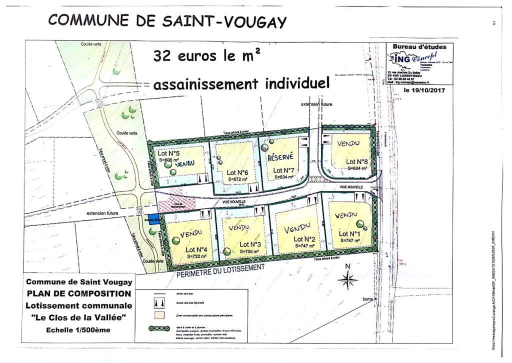 Lots à vendre à saint-Vougay