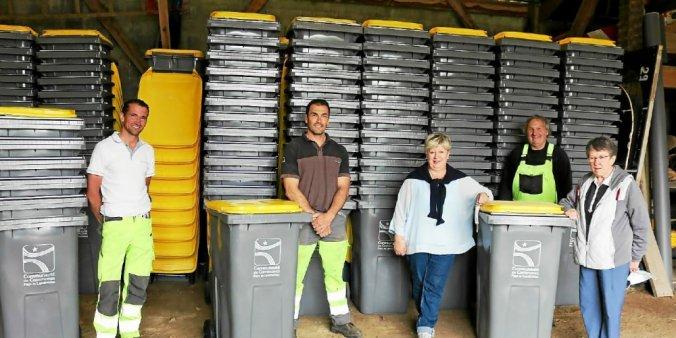 Distribution des conteneurs à recyclables à partir du 11 Juin